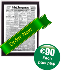 1916 Easter Rising Newspaper sales